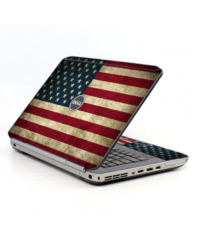 American Flag Dell E5520 Laptop Skin