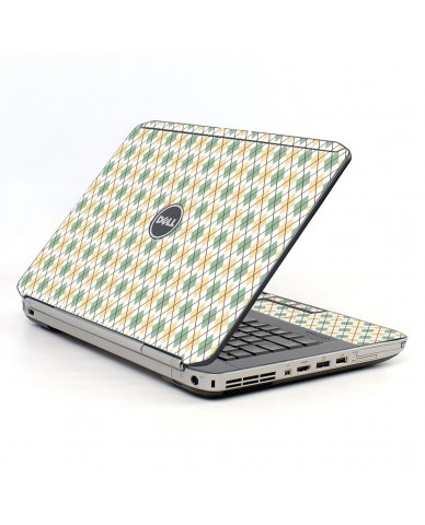 Argyle Dell E5520 Laptop Skin