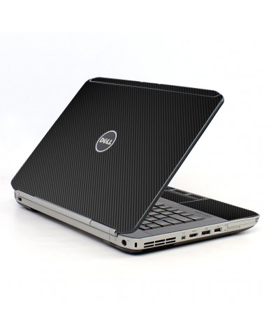 Black Carbon Fiber Dell E5520 Laptop Skin