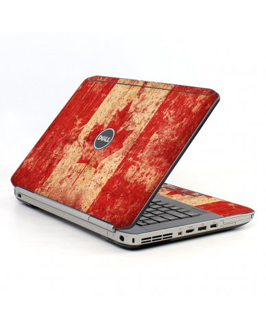 Canada Flag Dell E5520 Laptop Skin