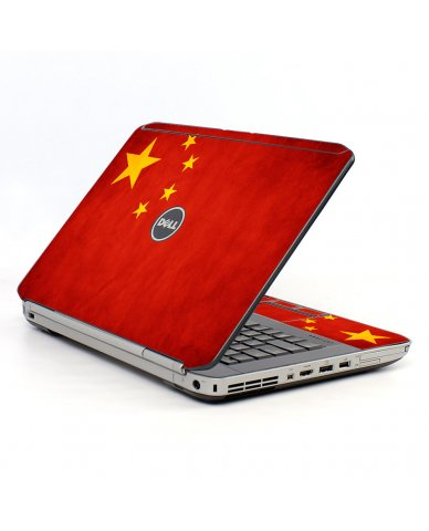 Flag Of China Dell E5520 Laptop Skin