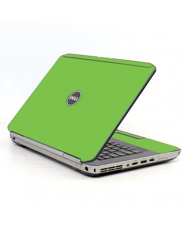 Green Dell E5520 Laptop Skin