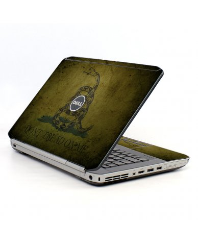 Green Dont Tread Flag Dell E5520 Laptop Skin