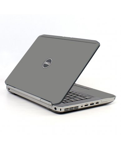 Grey/Silver Dell E5520 Laptop Skin