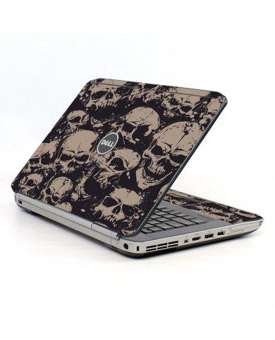Grunge Skulls Dell E5520 Laptop Skin