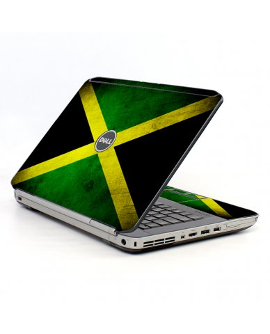 Jamaican Flag Dell E5520 Laptop Skin