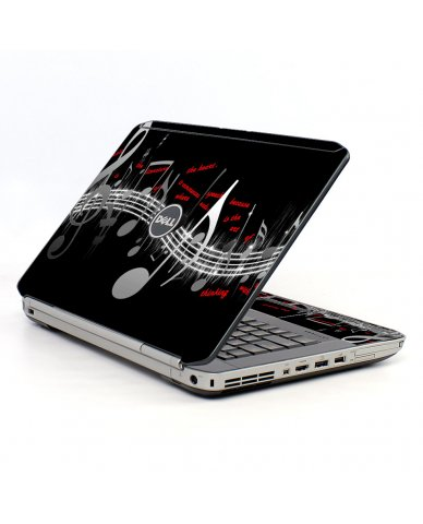 Music Notes Dell E5520 Laptop Skin