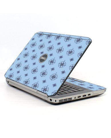 Nautical Blue Dell E5520 Laptop Skin