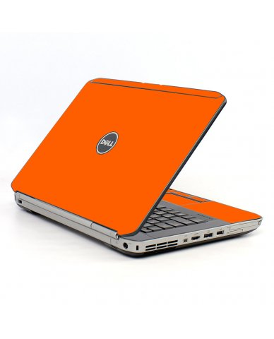 Orange Dell E5520 Laptop Skin