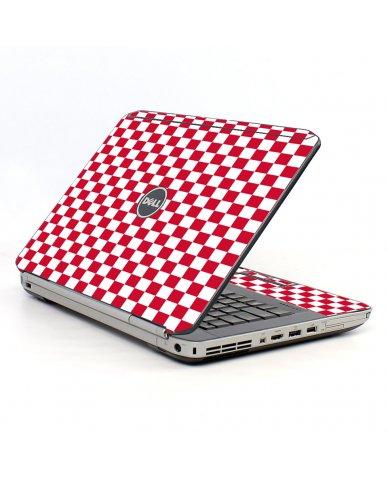 Red Check Dell E5520 Laptop Skin