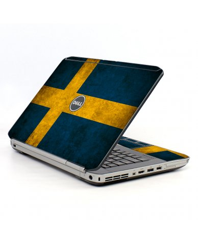 Swedish Flag Dell E5520 Laptop Skin