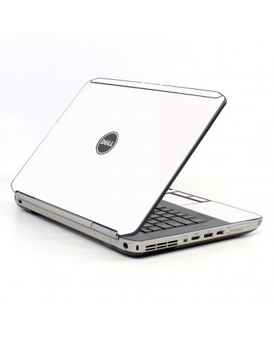 White Dell E5520 Laptop Skin