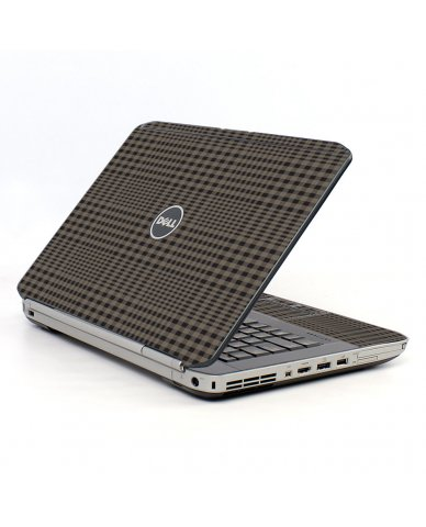 Beige Plaid Dell E5530 Laptop Skin