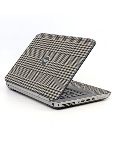Grey Plaid Dell E5530 Laptop Skin