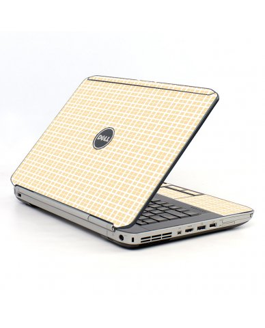 Warm Plaid Dell E5530 Laptop Skin
