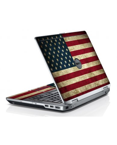 American Flag Dell E6220 Laptop Skin