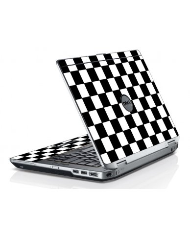 Checkered E6220 Laptop Skin