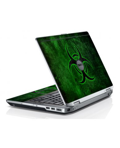 Green Biohazard Dell E6230 Laptop Skin