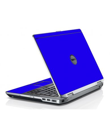Blue Dell E6320 Laptop Skin