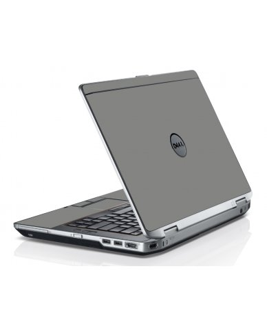 Grey Silver Dell E6320 Laptop Skin