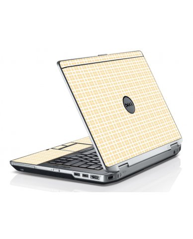 Warm Plaid Dell E6320 Laptop Skin