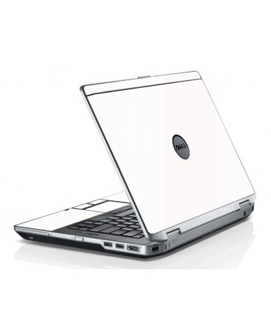 White Dell E6320 Laptop Skin