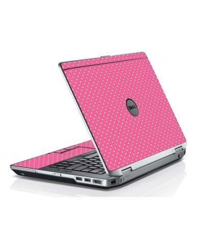Pink Polka Dot Dell E6330 Laptop Skin