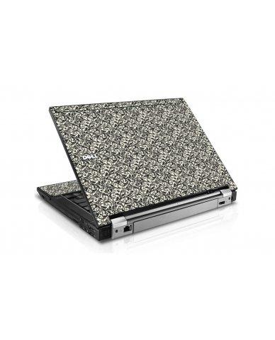Black Versailles Dell E6400 Laptop Skin