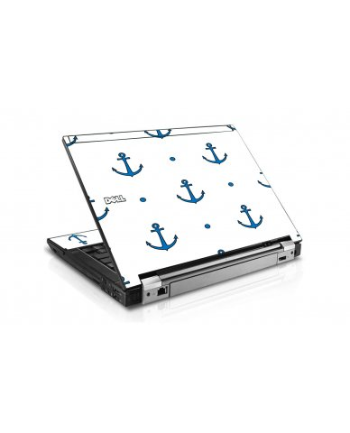 Blue Anchors Dell E6400 Laptop Skin