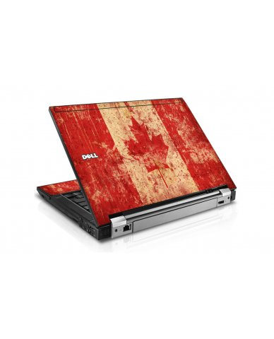 Canada Flag Dell E6400 Laptop Skin
