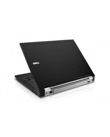 Black Carbon Fiber Dell E6400 Laptop Skin
