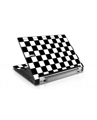 Checkered Dell E6400 Laptop Skin