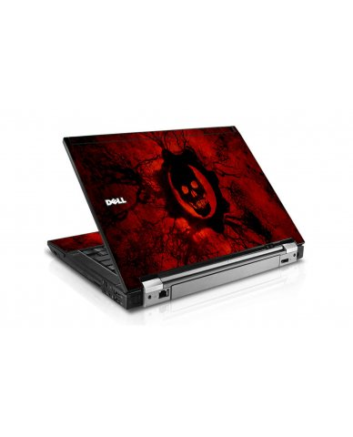 Dark Skull Dell E6400 Laptop Skin