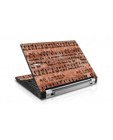 Latin Sheet Music Dell E6400 Laptop Skin