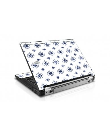 Nautical Dell E6400 Laptop Skin