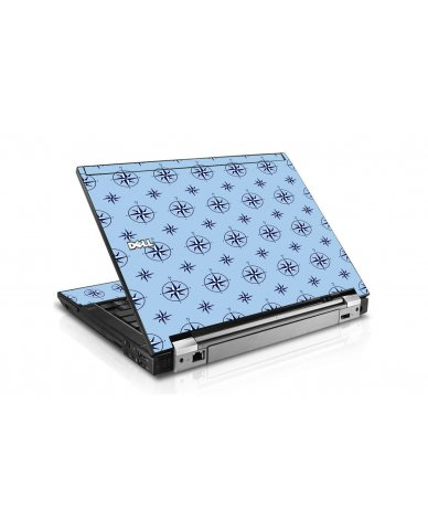 Nautical Blue Dell E6400 Laptop Skin