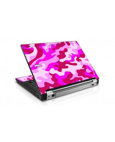Pink Camo Dell E6400 Laptop Skin