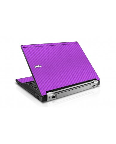 Purple Carbon Fiber Dell E6400 Laptop Skin