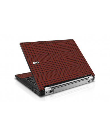 Red Flannel Dell E6400 Laptop Skin