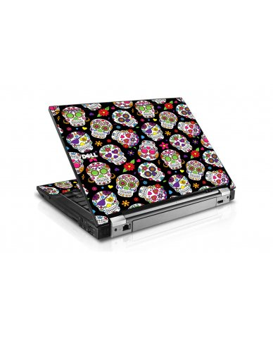 Sugar Skulls Dell E6400 Laptop Skin