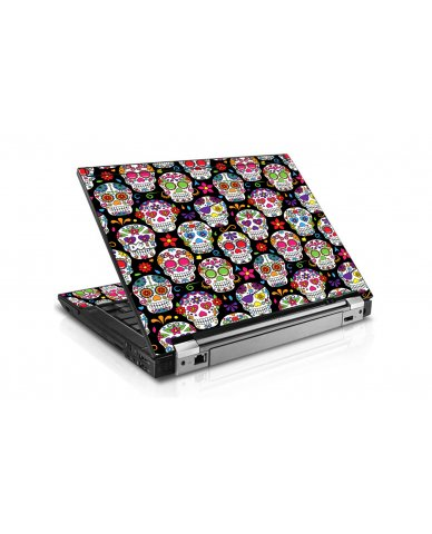 Sugar Skulls Seven Dell E6400 Laptop Skin