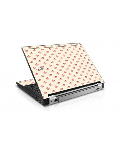 White And Pink Versailles Dell E6400 Laptop Skin