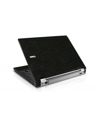 Black Leather Dell E6410 Laptop Skin