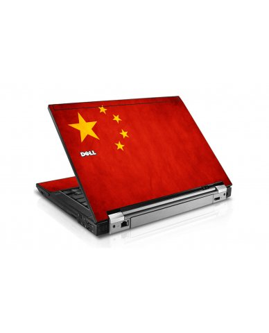 Flag Of China Dell E6410 Laptop Skin