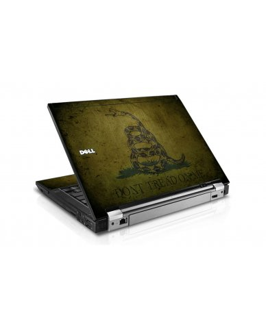 Green Dont Tread On Me Dell E6410 Laptop Skin
