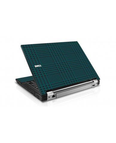 Green Flannel Dell E6410 Laptop Skin