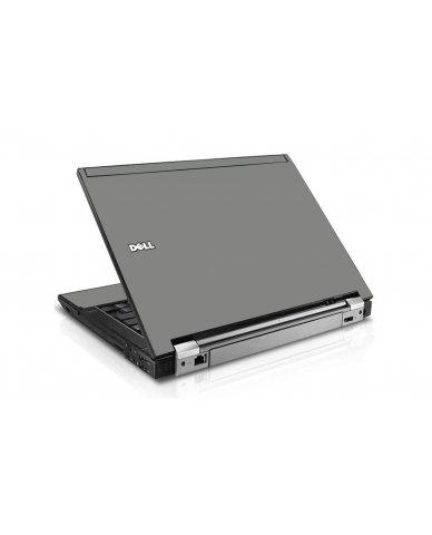 Grey Silver Dell E6410 Laptop Skin