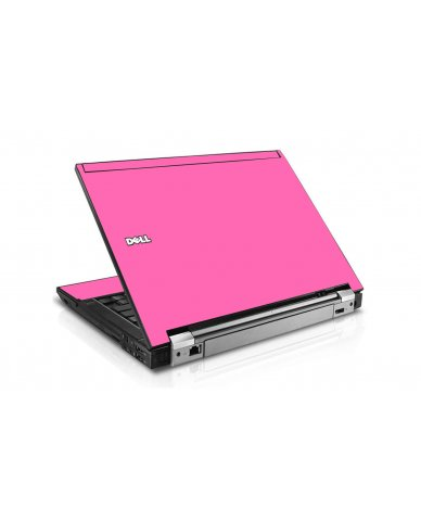 Pink Dell E6410 Laptop Skin