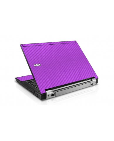 Purple Carbon Fiber Dell E6410 Laptop Skin