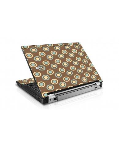 Retro Polka Dot Dell E6410 Laptop Skin